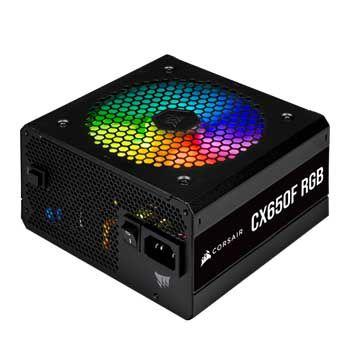 650W CORSAIR CX650F RGB Black 80 Plus Bronze - Full Modul