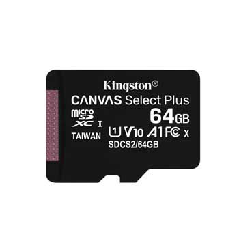 MICRO-SD 64GB KINGSTON Canvas Select SDCS2/64GB