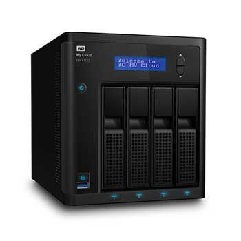 0TB WD My Cloud PR4100 WDBNFA0000NBK-SESN