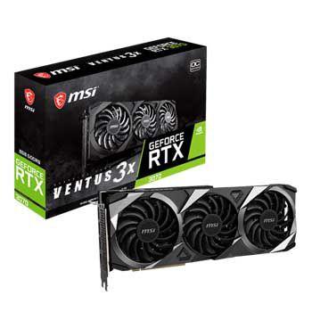 8GB MSI GeForce RTX 3070 VENTUS 3X OC