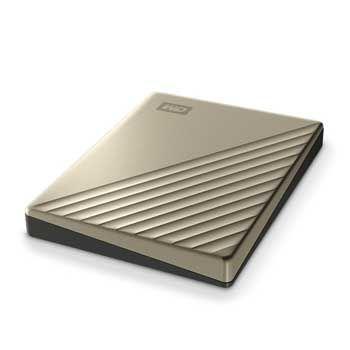 4TB WESTERN Passport Ultra - WDBFTM0040BGD ( Màu Gold)