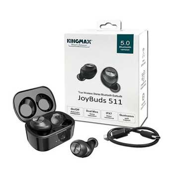 HEADPHONE Kingmax Bluetooth JoyBuds 511 Black