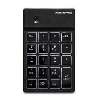Bàn phím số Bluetooth Newmen TK-028 (Đen)