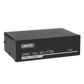 VGA MULTI 1-2 Unitek U-8706