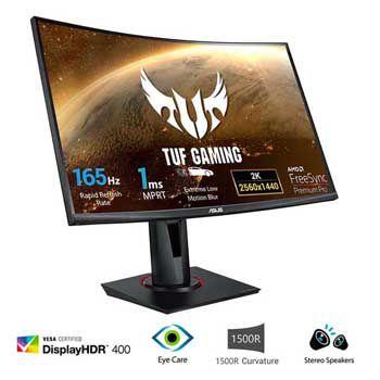 """LCD 27"""" ASUS TUF GAMING VG27WQ (màn hình cong)"""