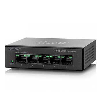 Switch Gigabit Cisco CBS110-5T-D-EU