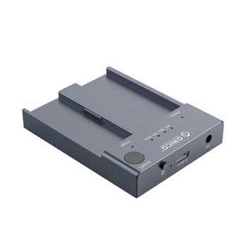 Đế ổ cứng 2 khe cắm SSD ORICO M2P2-C3-C-GY (NVME M.2)