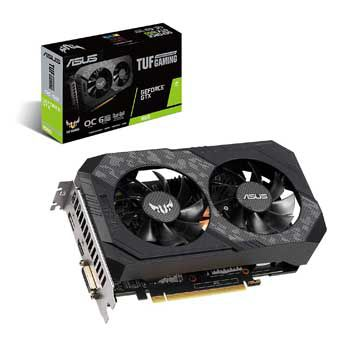 6GB Asus TUF-GTX1660S-O6G-GAMING