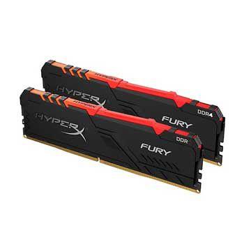 32GB DDRAM 4 3200 KINGSTON HyperX Fury RGB (KIT)