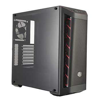 Cooler Master MasterBox MB511 TG Red Trim