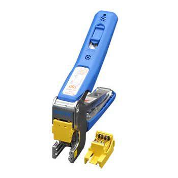 Dụng cụ nhấn cáp DINTEK F-Tool, bấm cáp mạng vào Keystone Jack dạng dọc 6103-01006